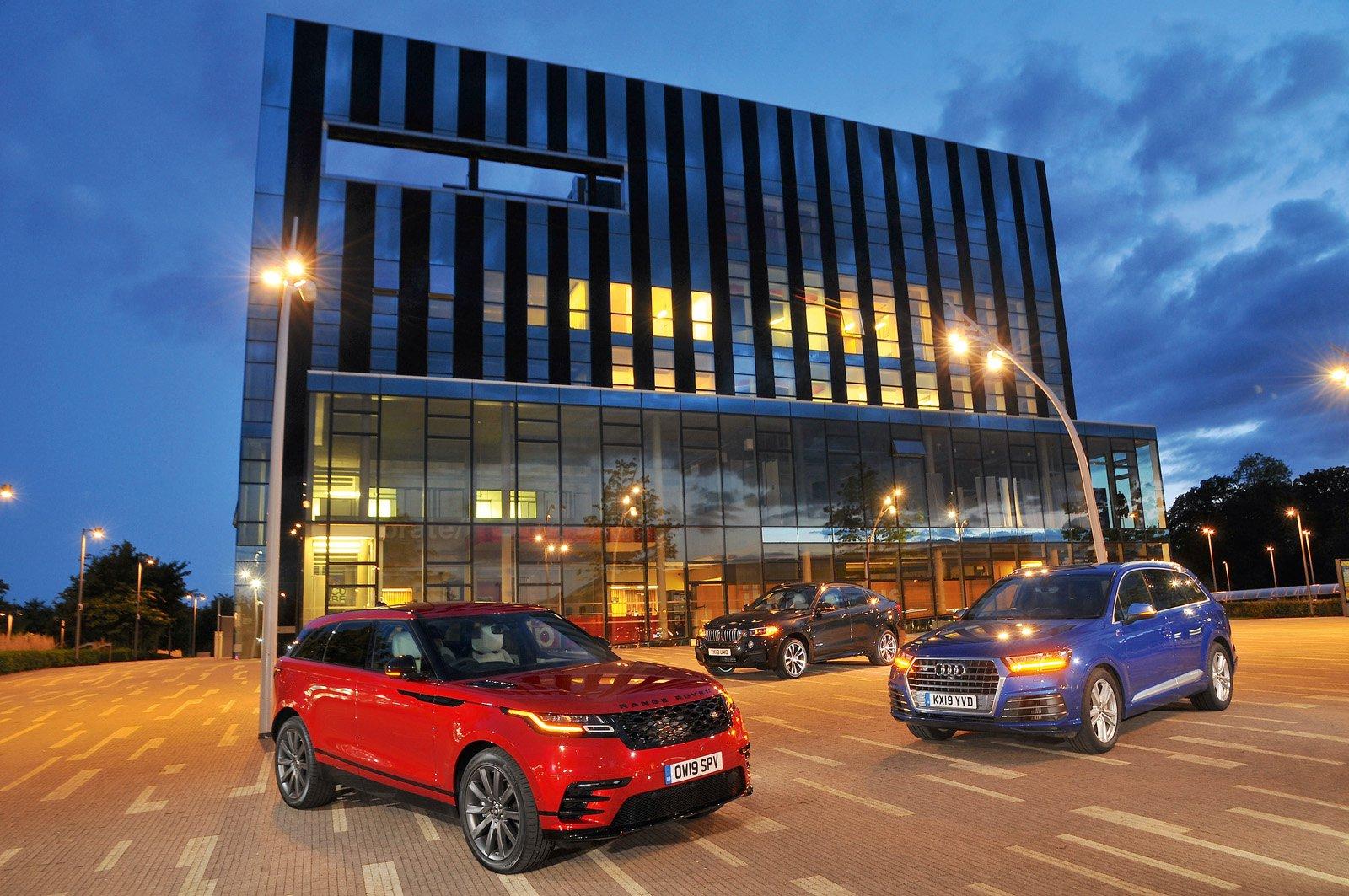 Range Rover Velar vs Audi SQ7 vs BMW X6
