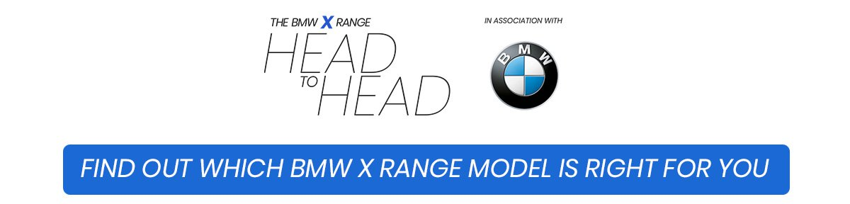 Find out which BMW X range model is right for you