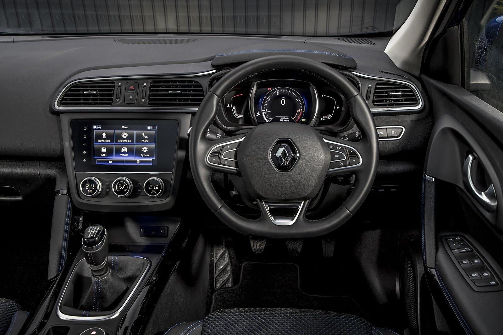 3: Renault Kadjar 1.5 dCi 110 - interior