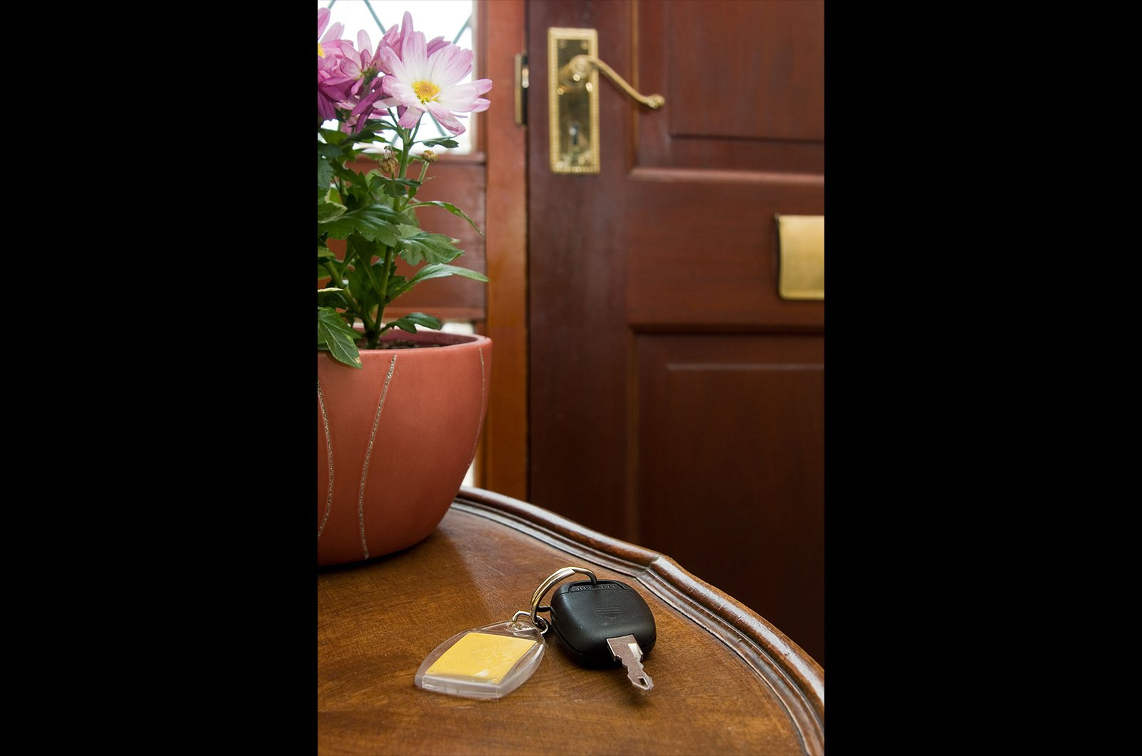 2. Keep your keys safe at home