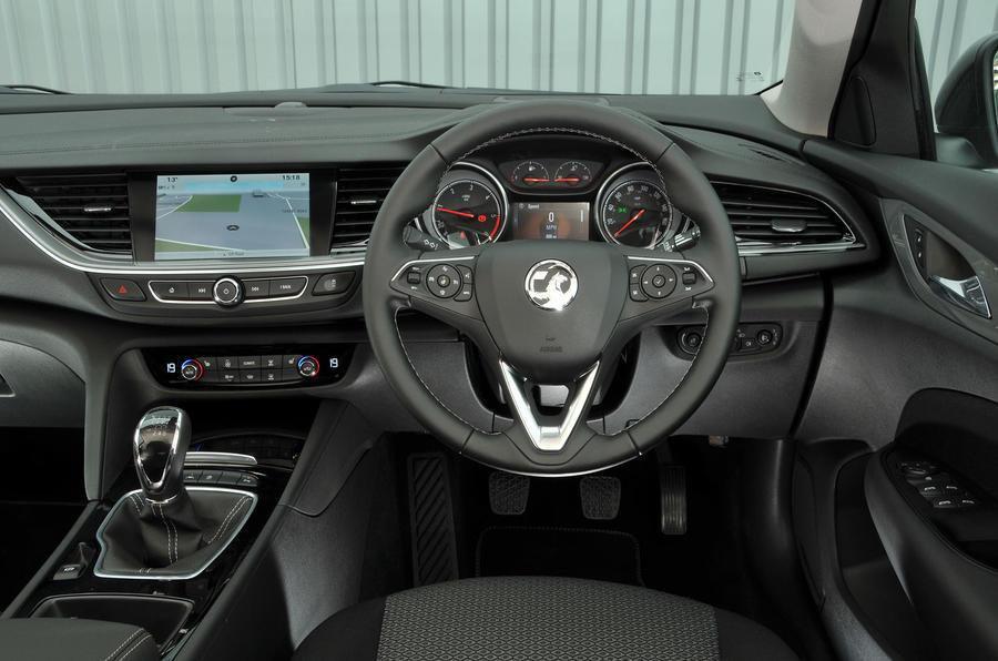 7: Vauxhall Insignia Grand Sport 1.6 - interior