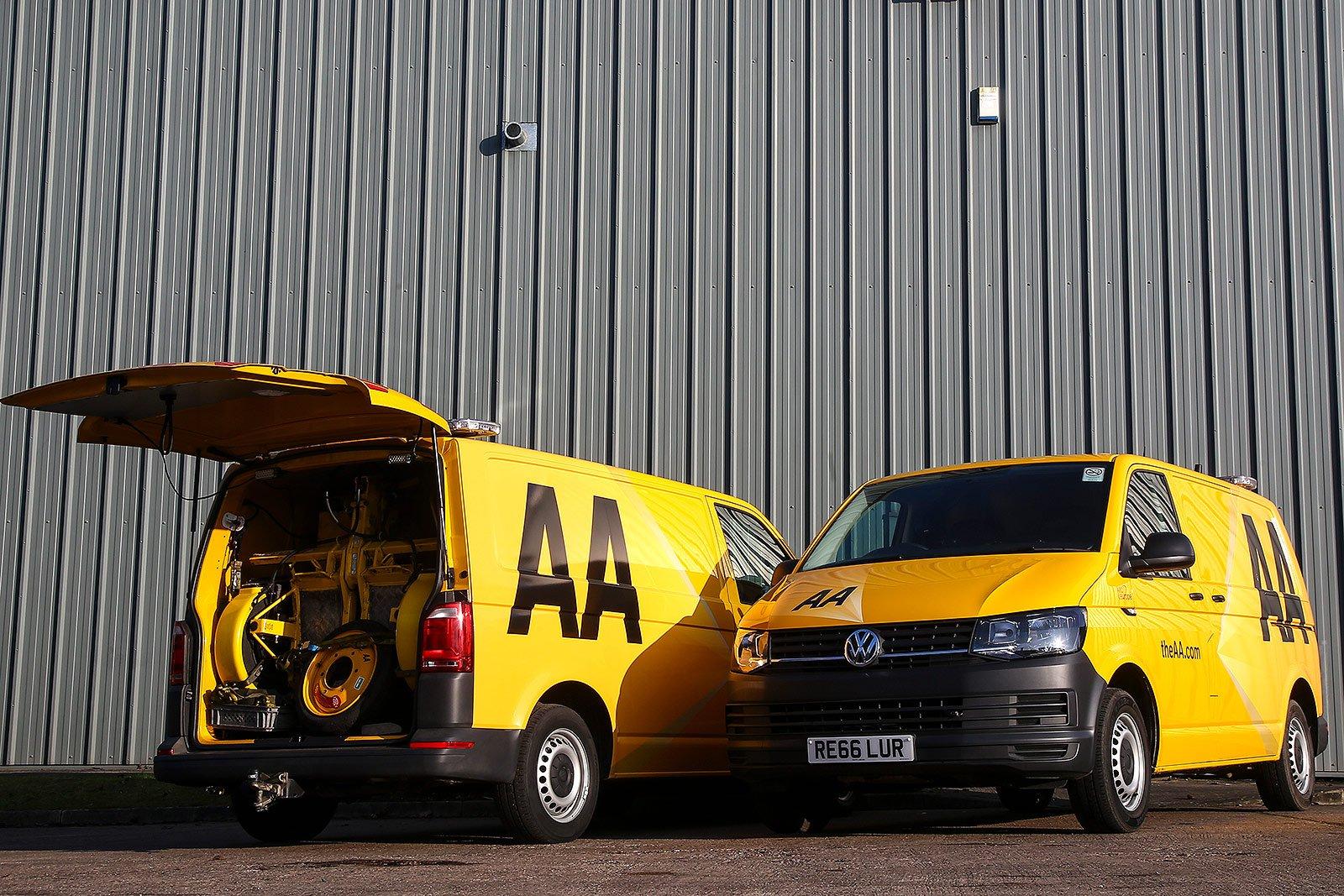 VW AA van