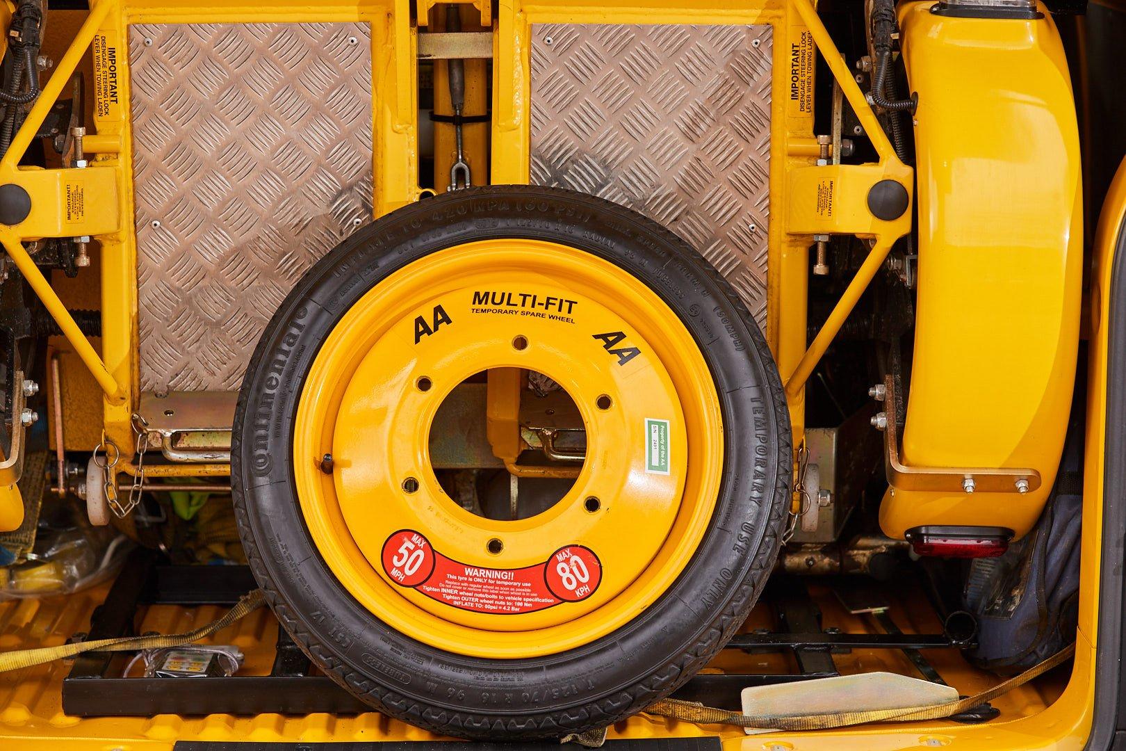 AA spare wheel