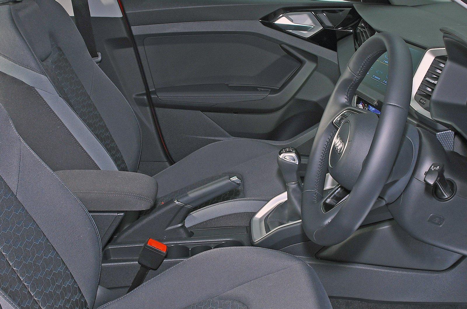 Audi A1 front armrest