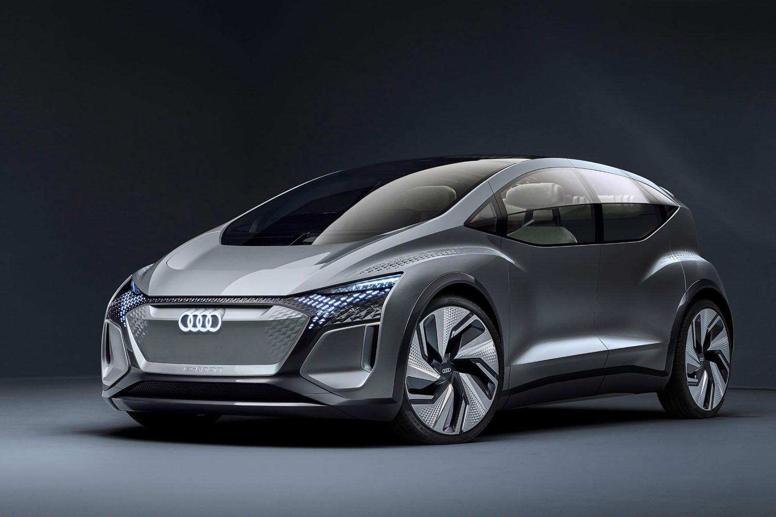 Audi AI:ME concept front
