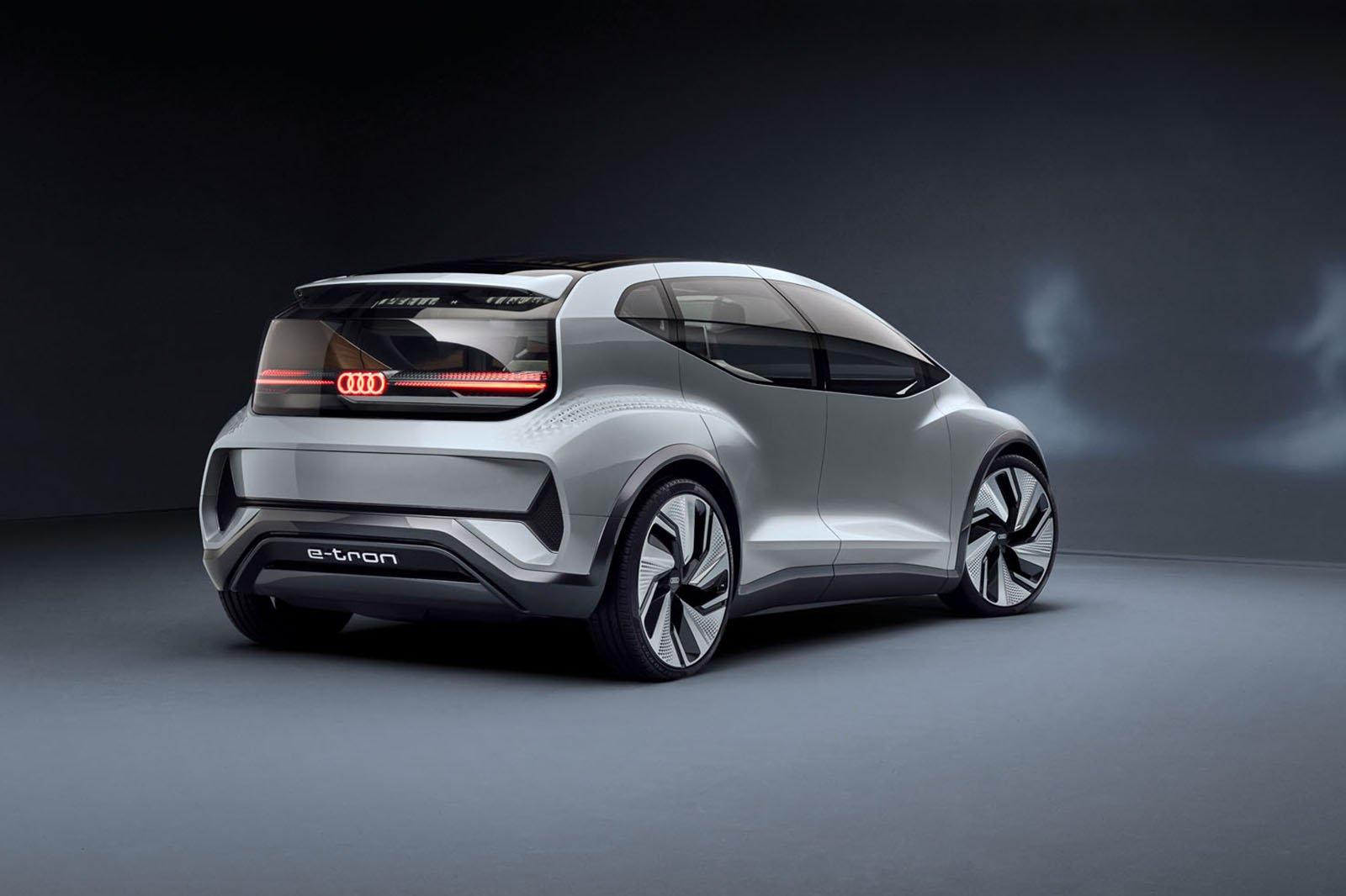 Audi AI:ME concept rear