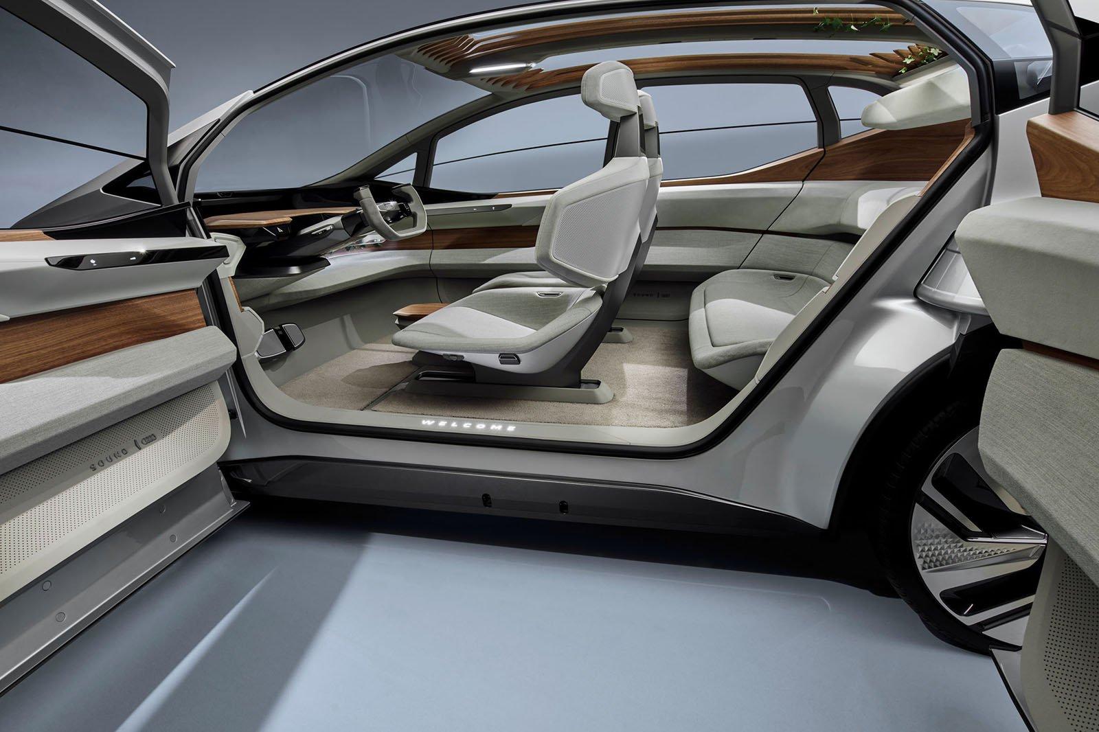 Audi AI:ME concept interior