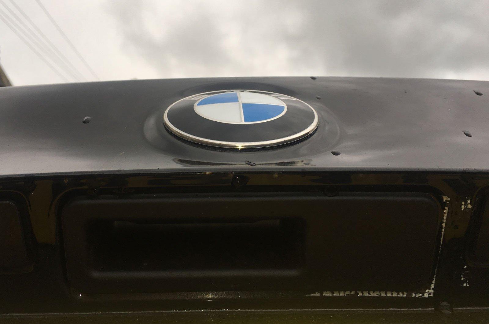 BMW X3 camera cover