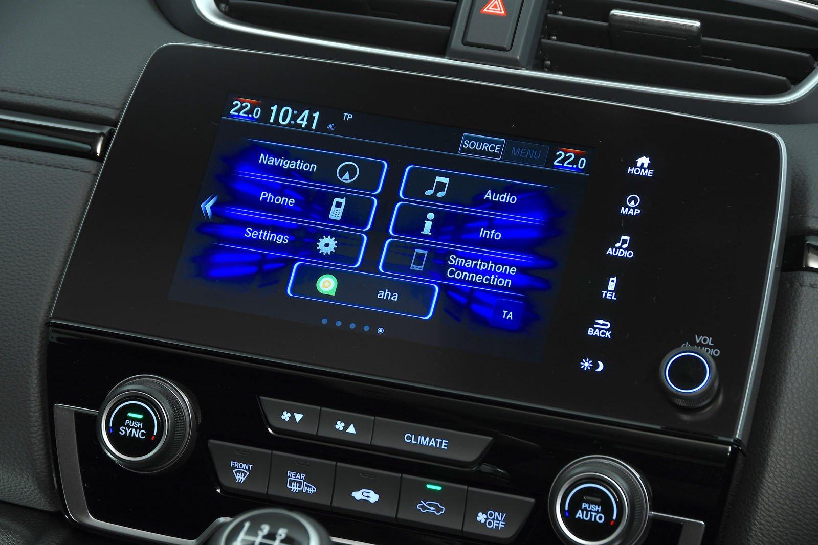 Honda CR-V infotainment