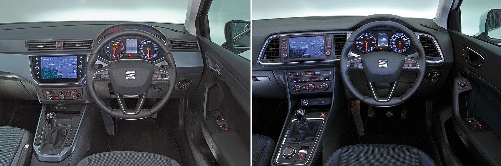 New Seat Arona vs used Seat Ateca