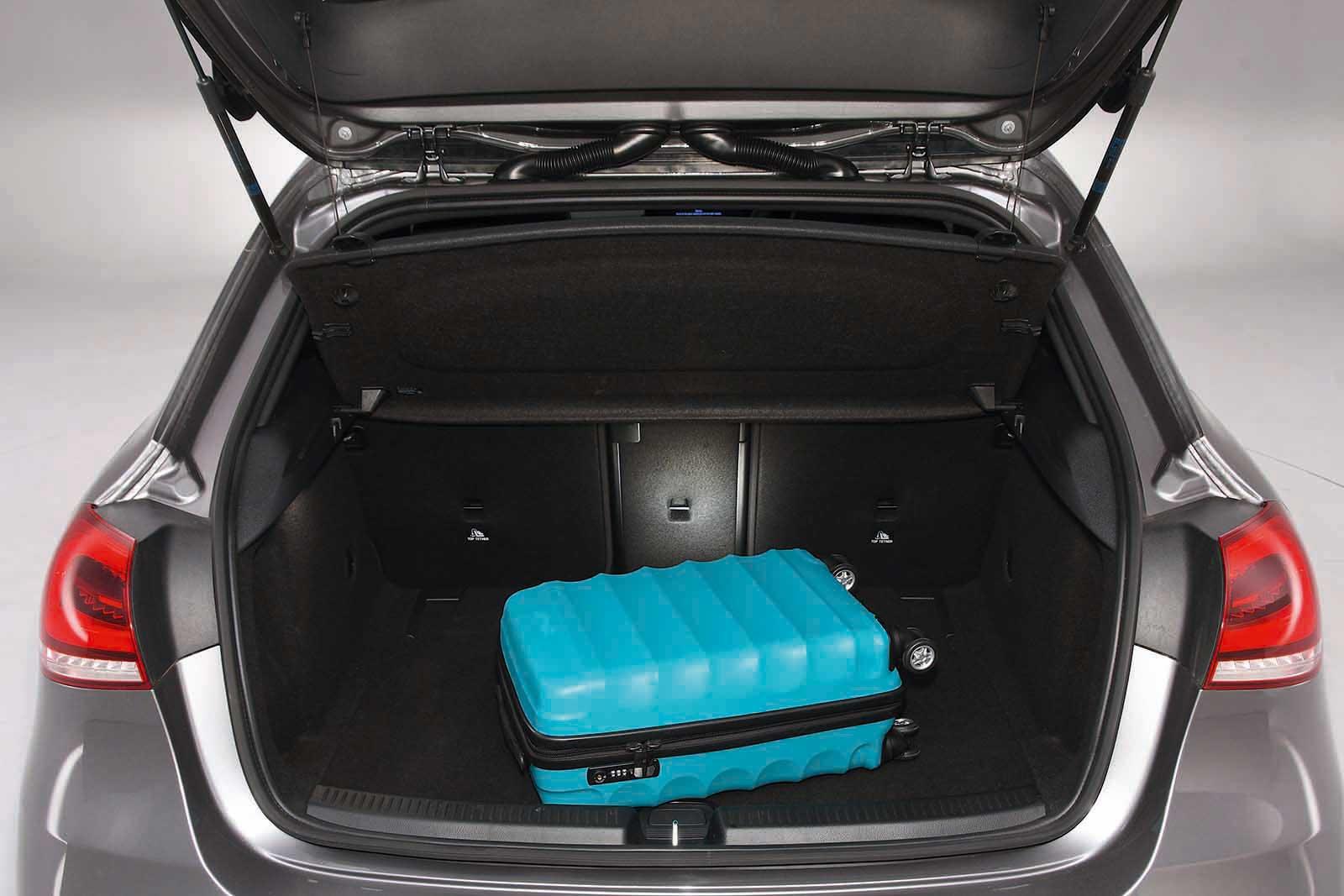 Mercedes-AMG A35 boot