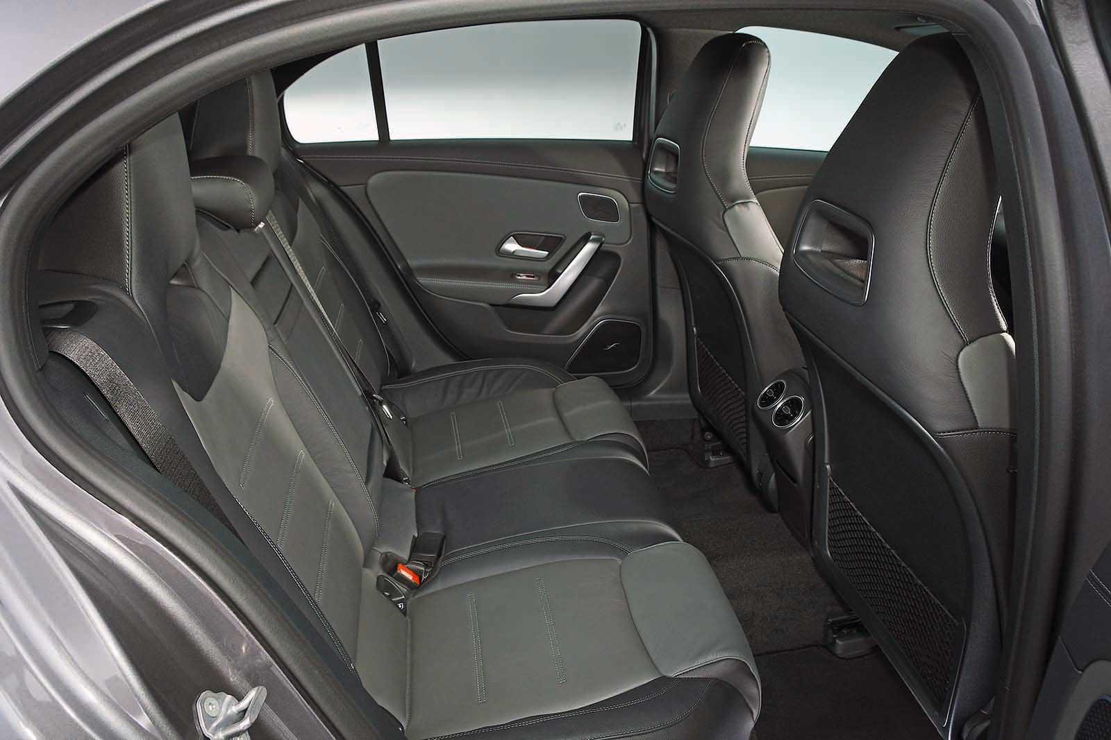 Mercedes-AMG A35 rear seats
