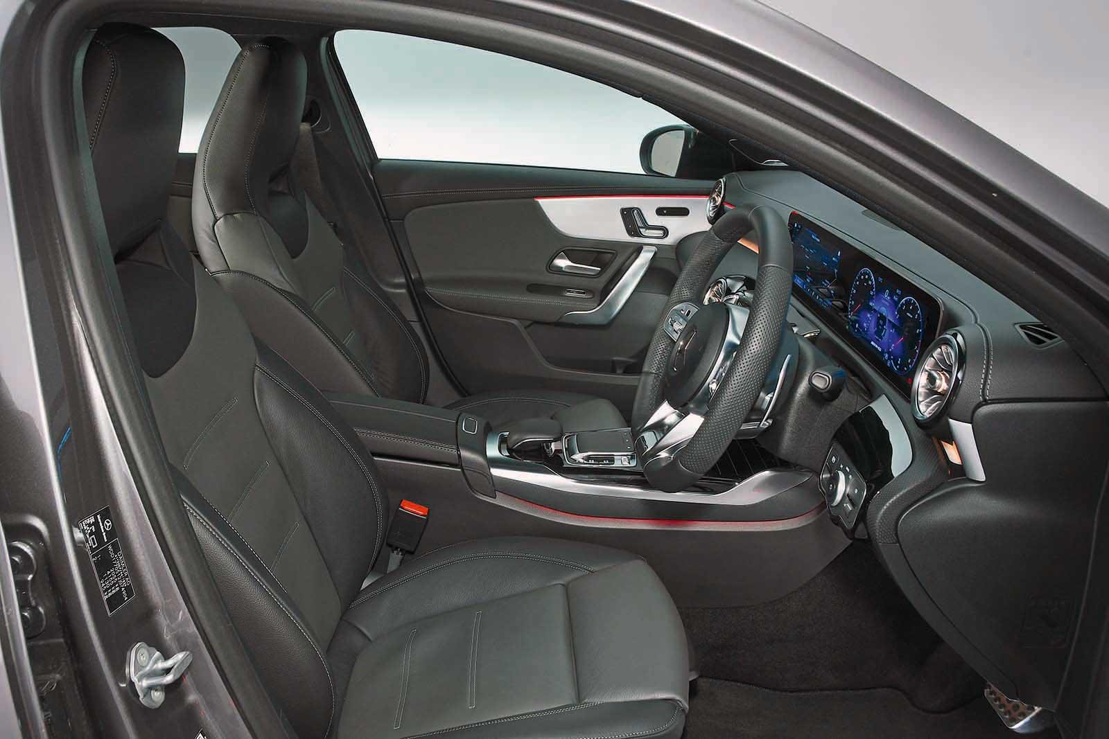 BMW M140i inside
