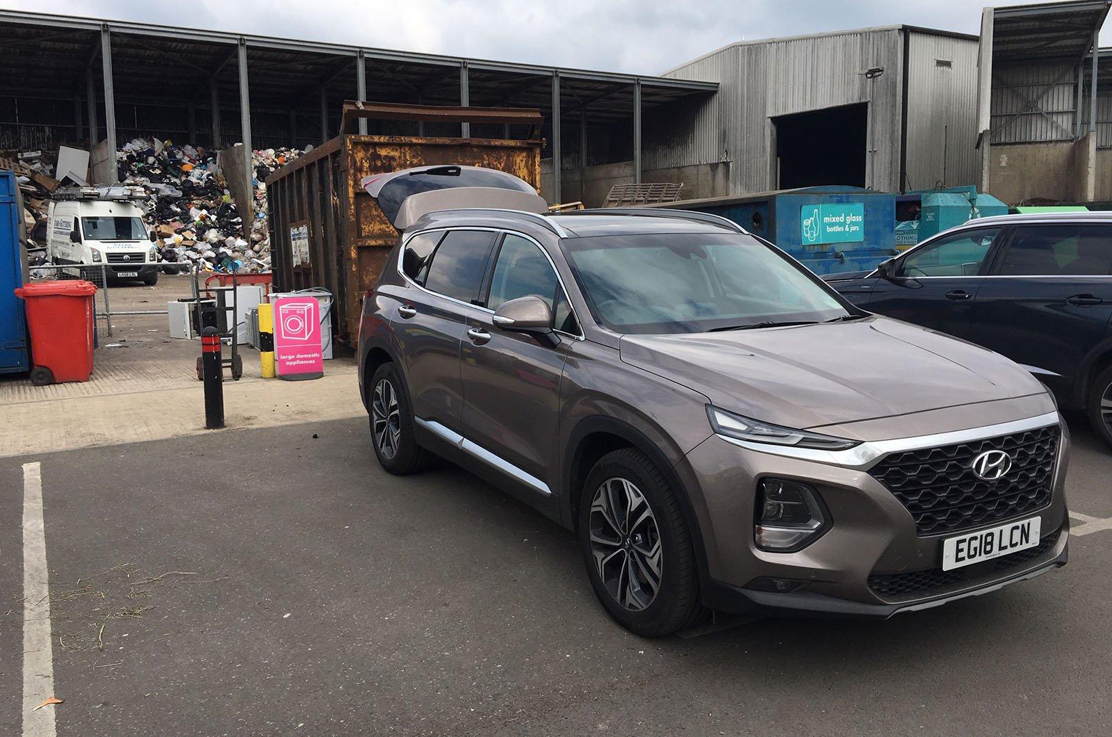 Hyundai Santa Fe tip run