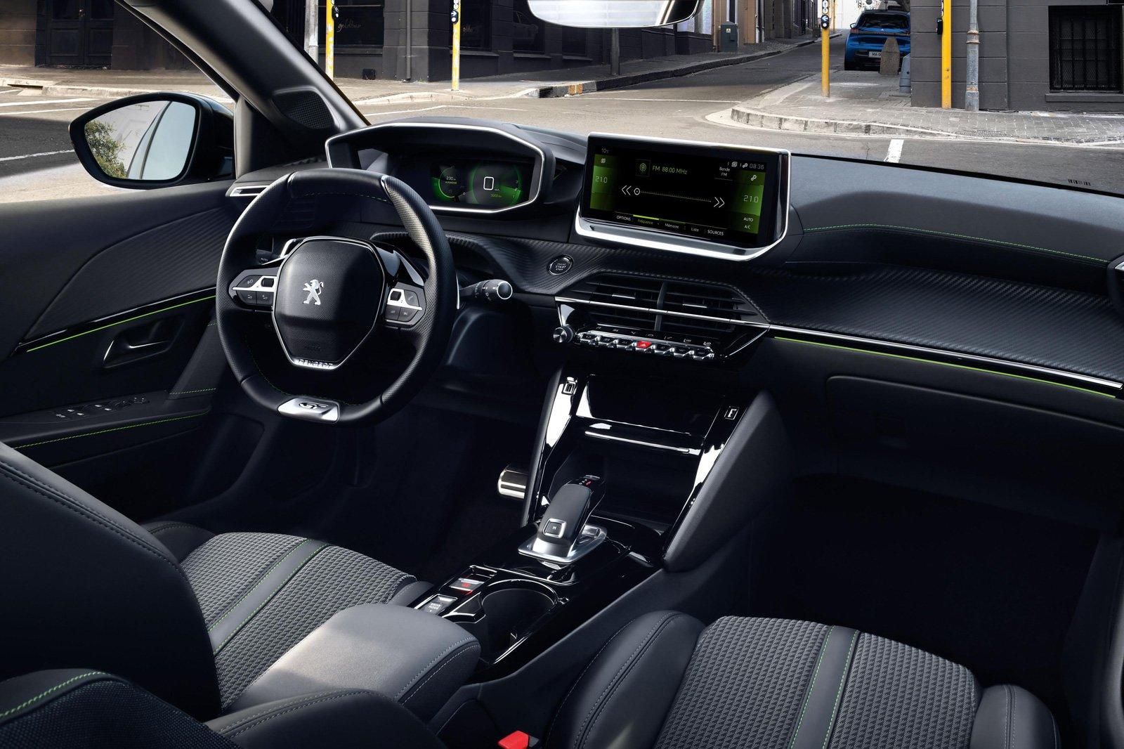 2019 Peugeot 208 interior