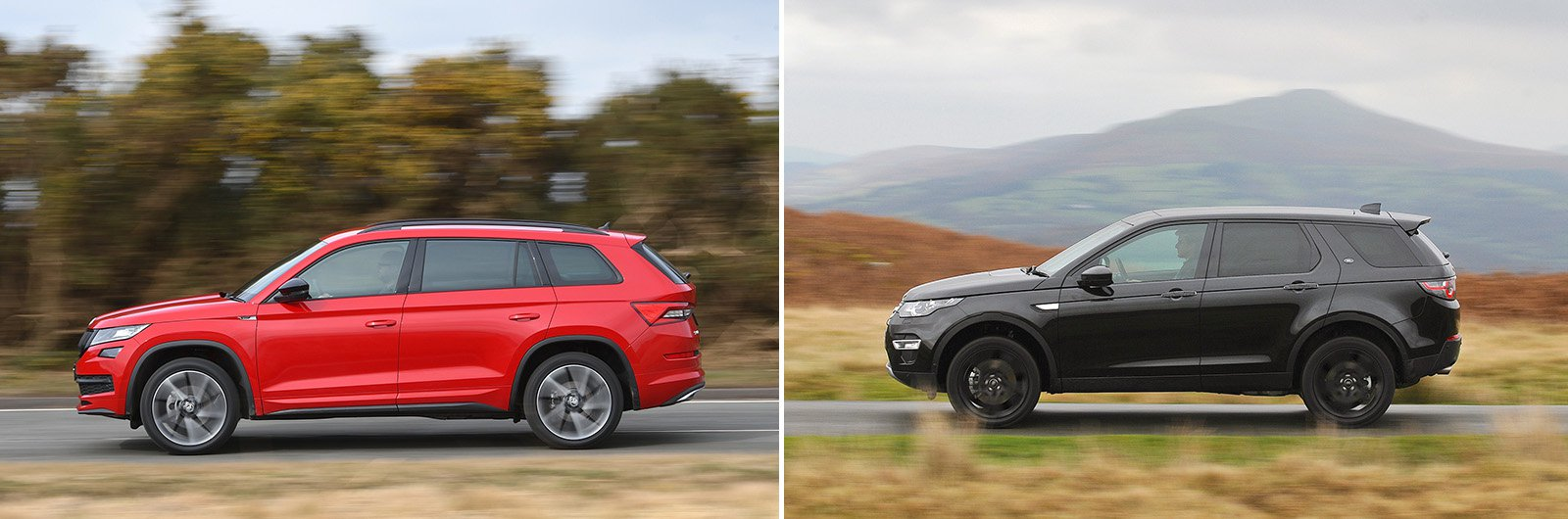 New Skoda Kodiaq vs used Land Rover Discovery Sport: which is best?