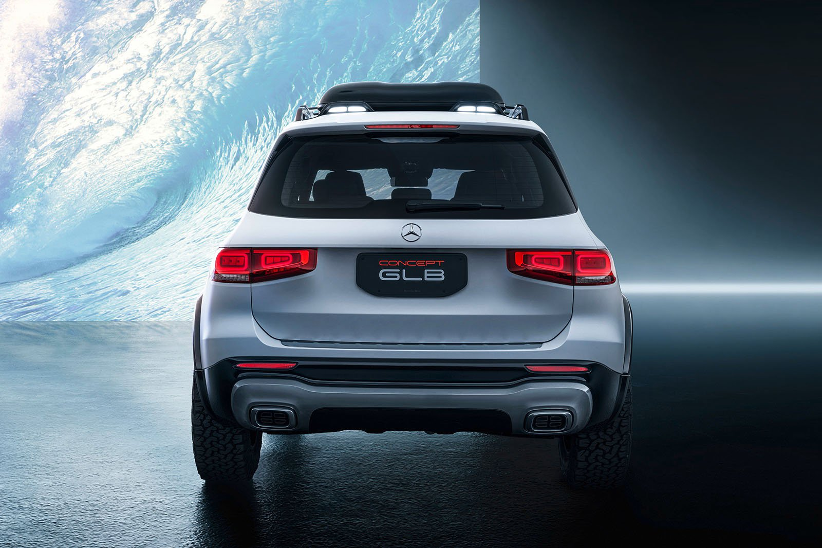Mercedes GLB concept rear