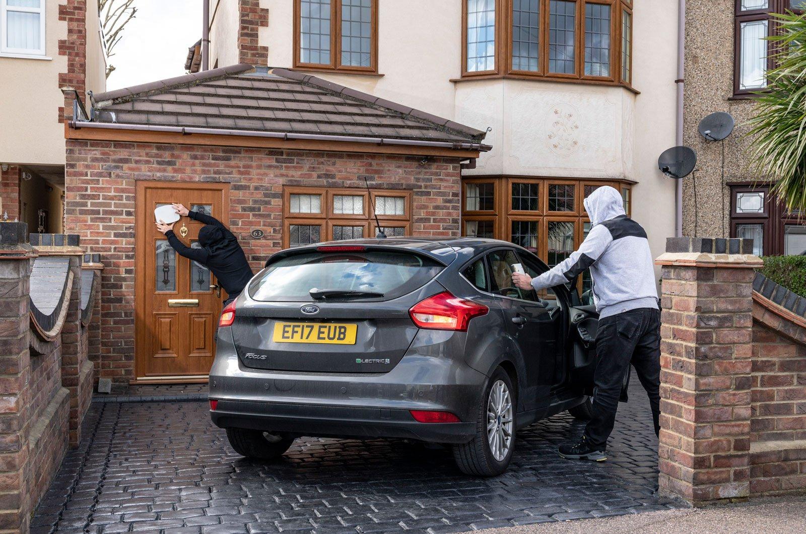 Ford Fiesta ST keyless theft