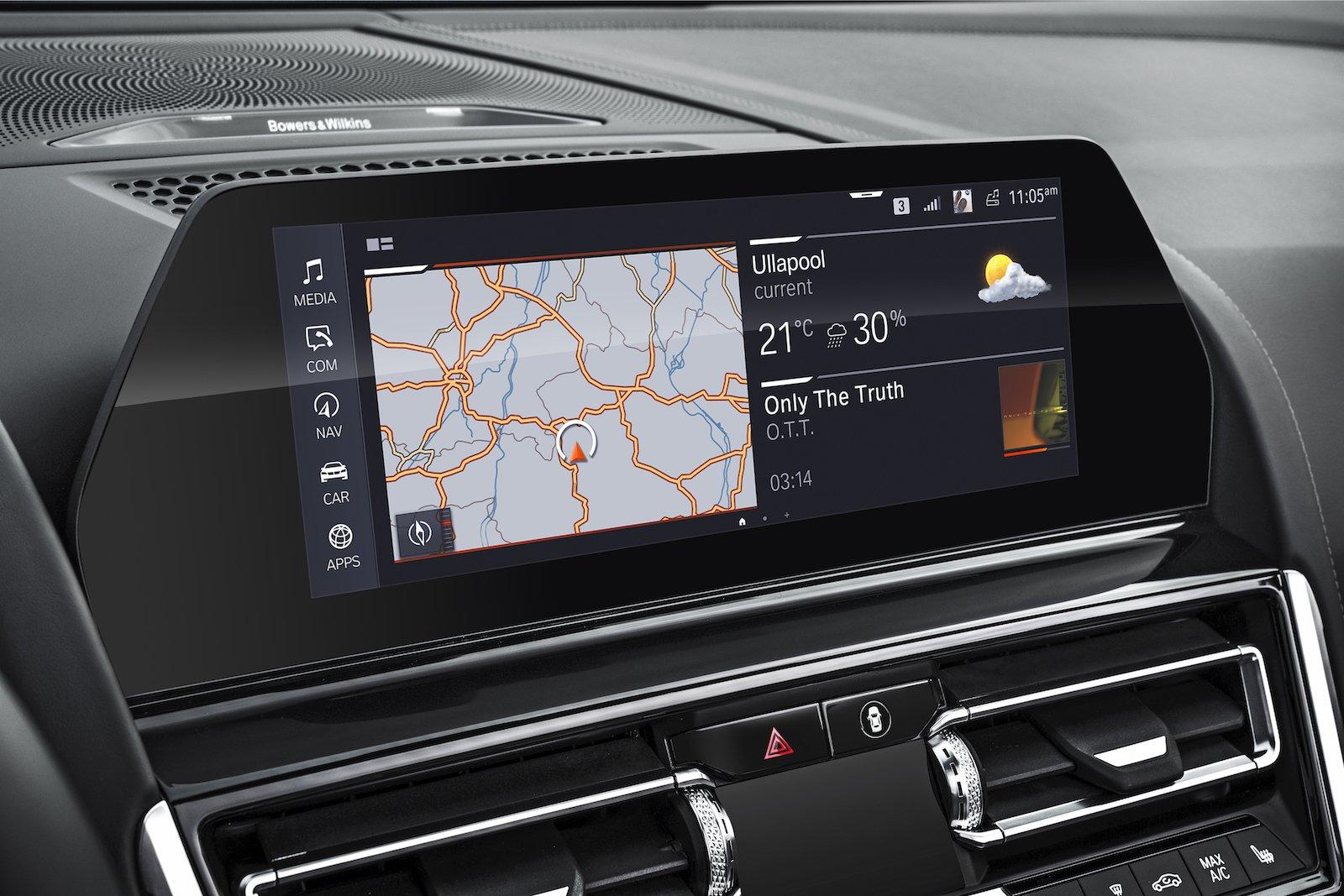 BMW 8 Series Convertible 2019 LHD infotainment