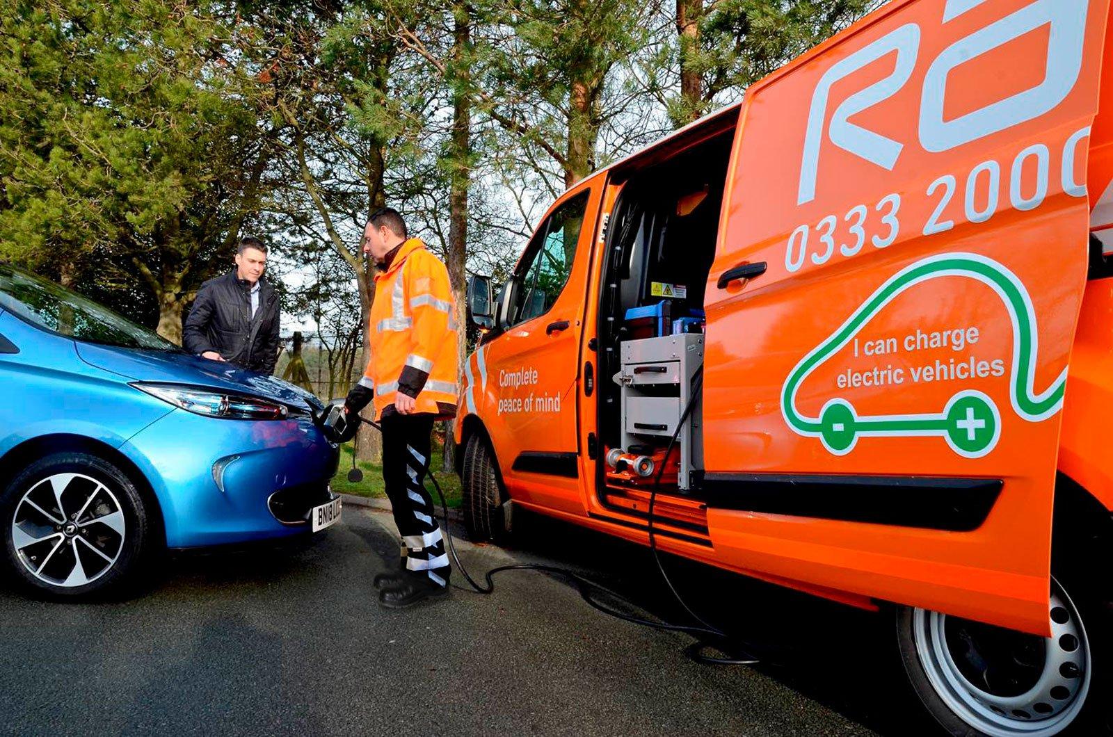 RAC EV Boost system