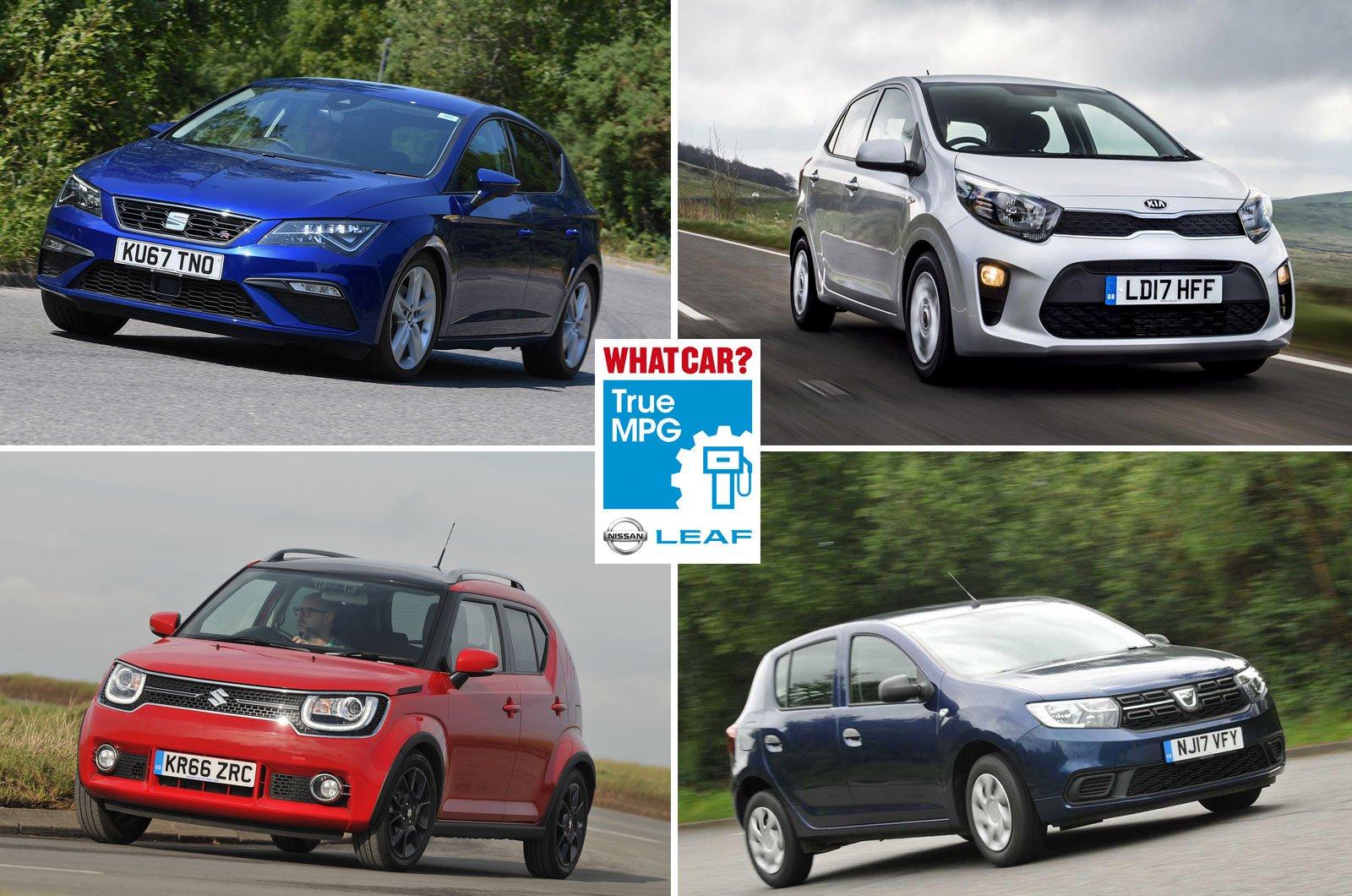 Seat Leon, Kia Picanto, Suzuki Ignis, Dacia Sandero