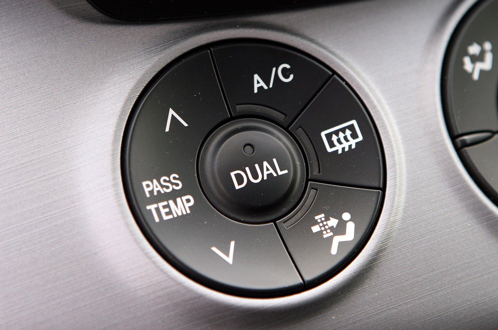 Air-con controls