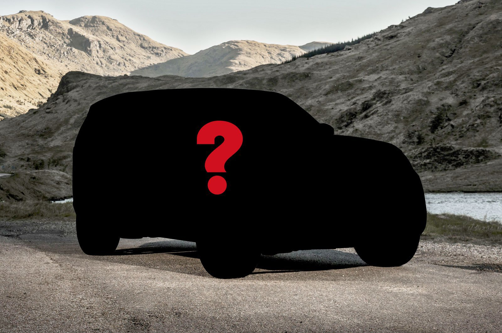 Land Rover Disco silhouette