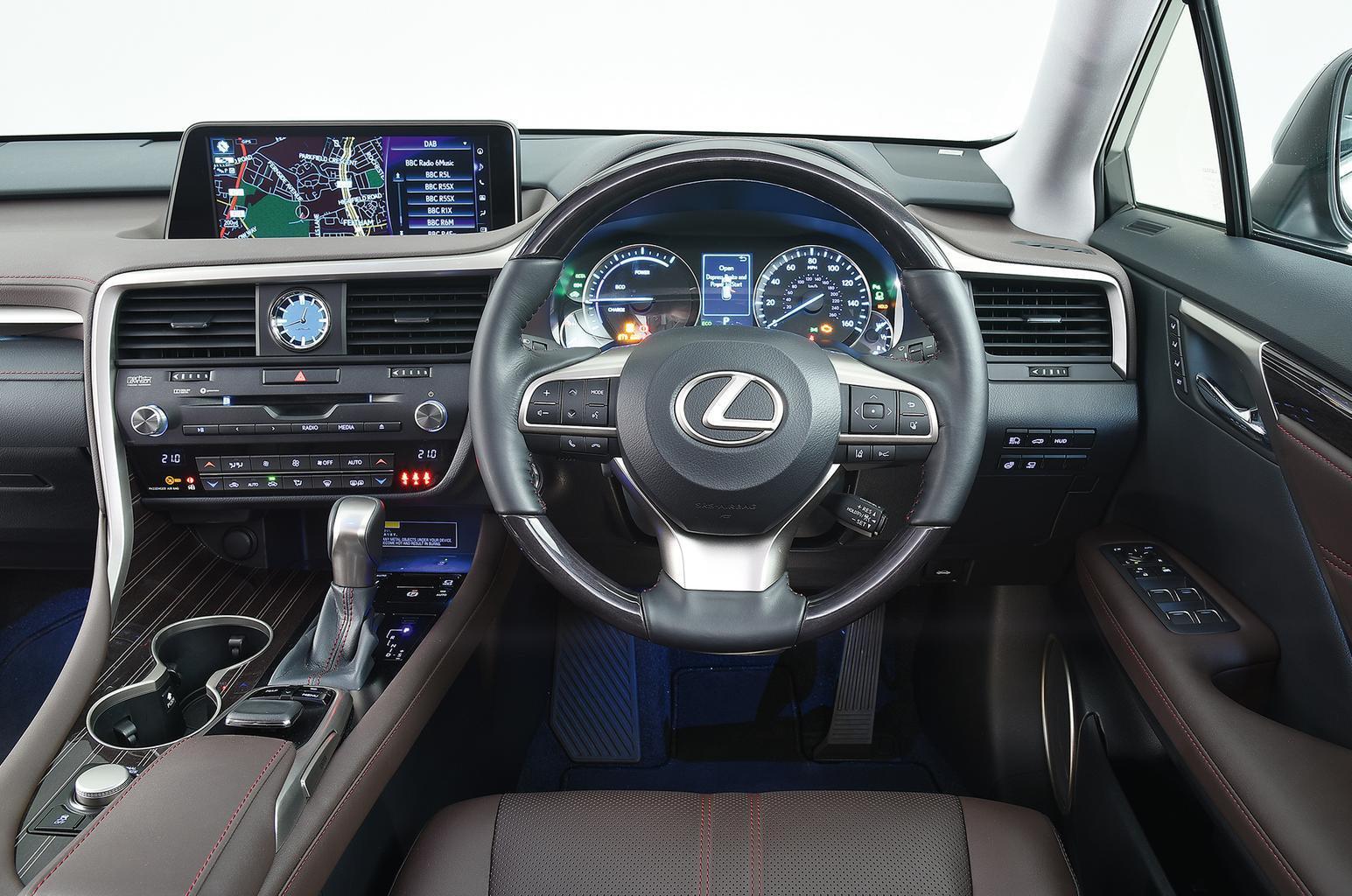 2018 Lexus RX 450h 3.5 Sport - interior