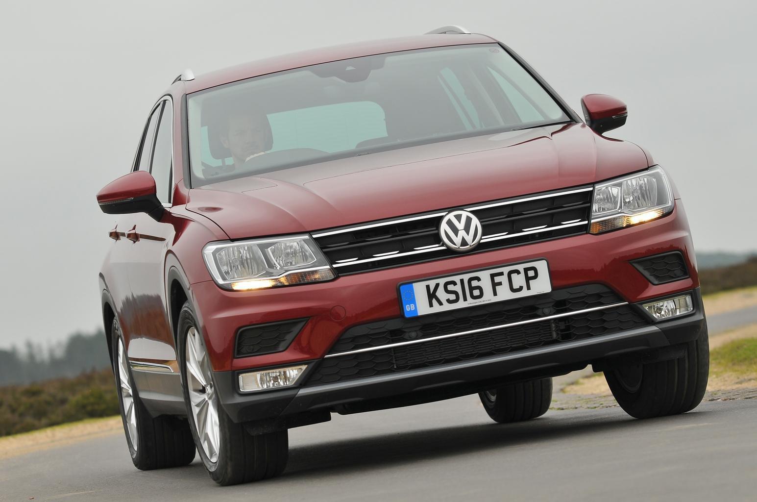 5: Volkswagen Tiguan