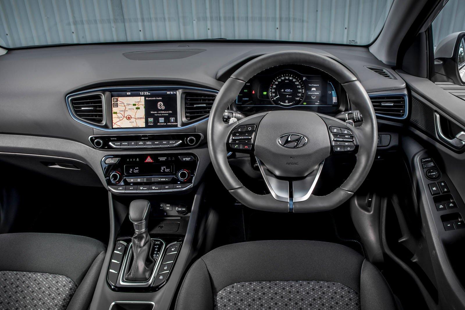 4: Hyundai Ioniq - interior