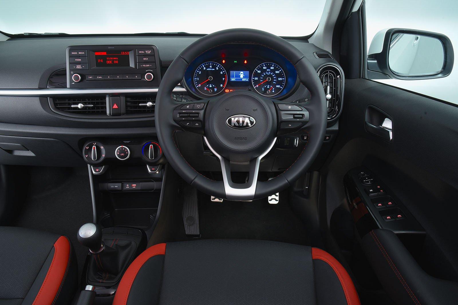 Kia Picanto 1.25 3 5dr - interior