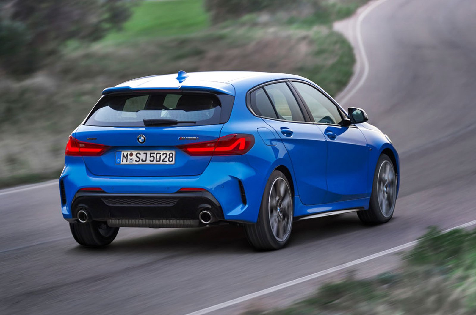 2020 BMW 1 Series rear