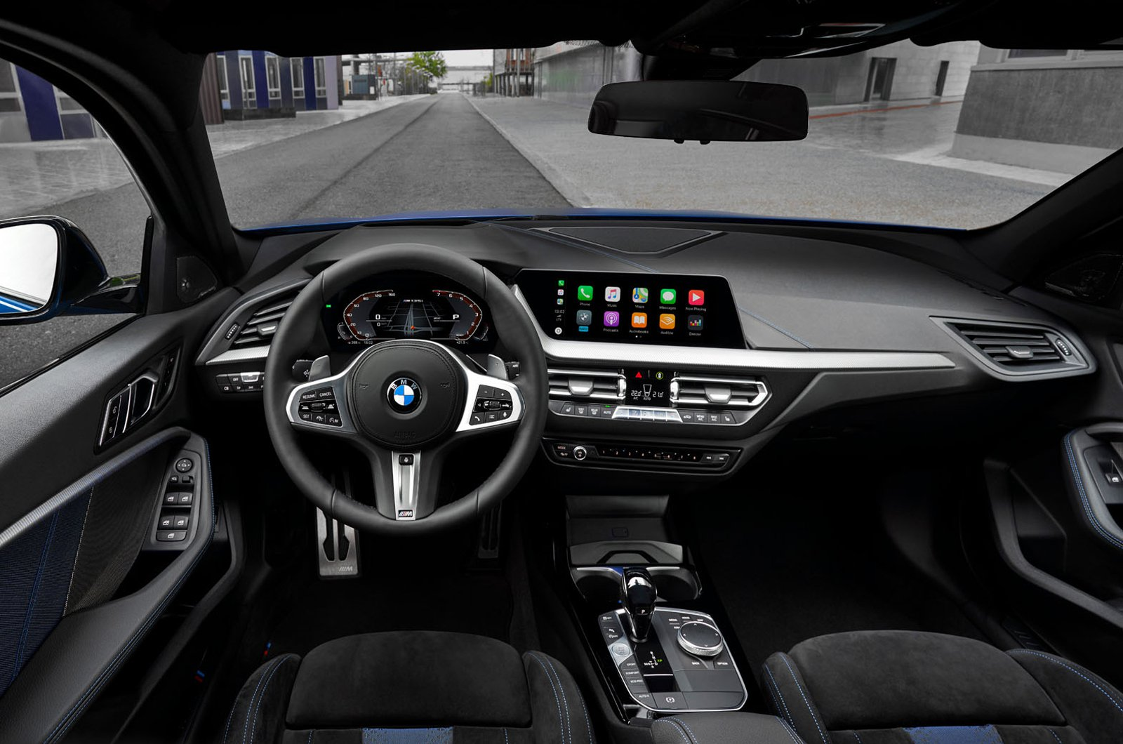 2020 BMW 1 Series dashboard