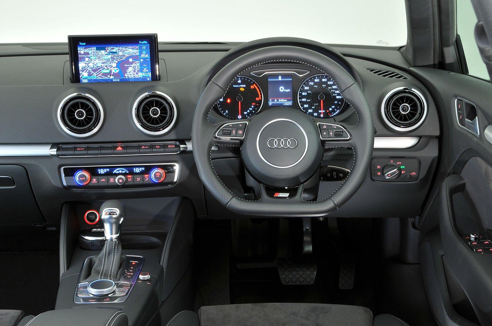Audi A3 Sportback - interior