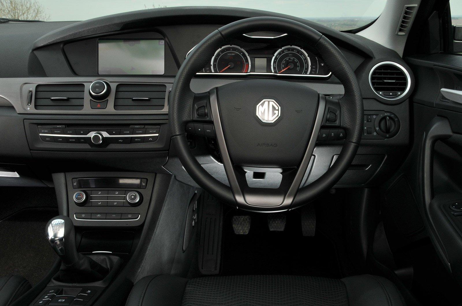 MG 6 - interior