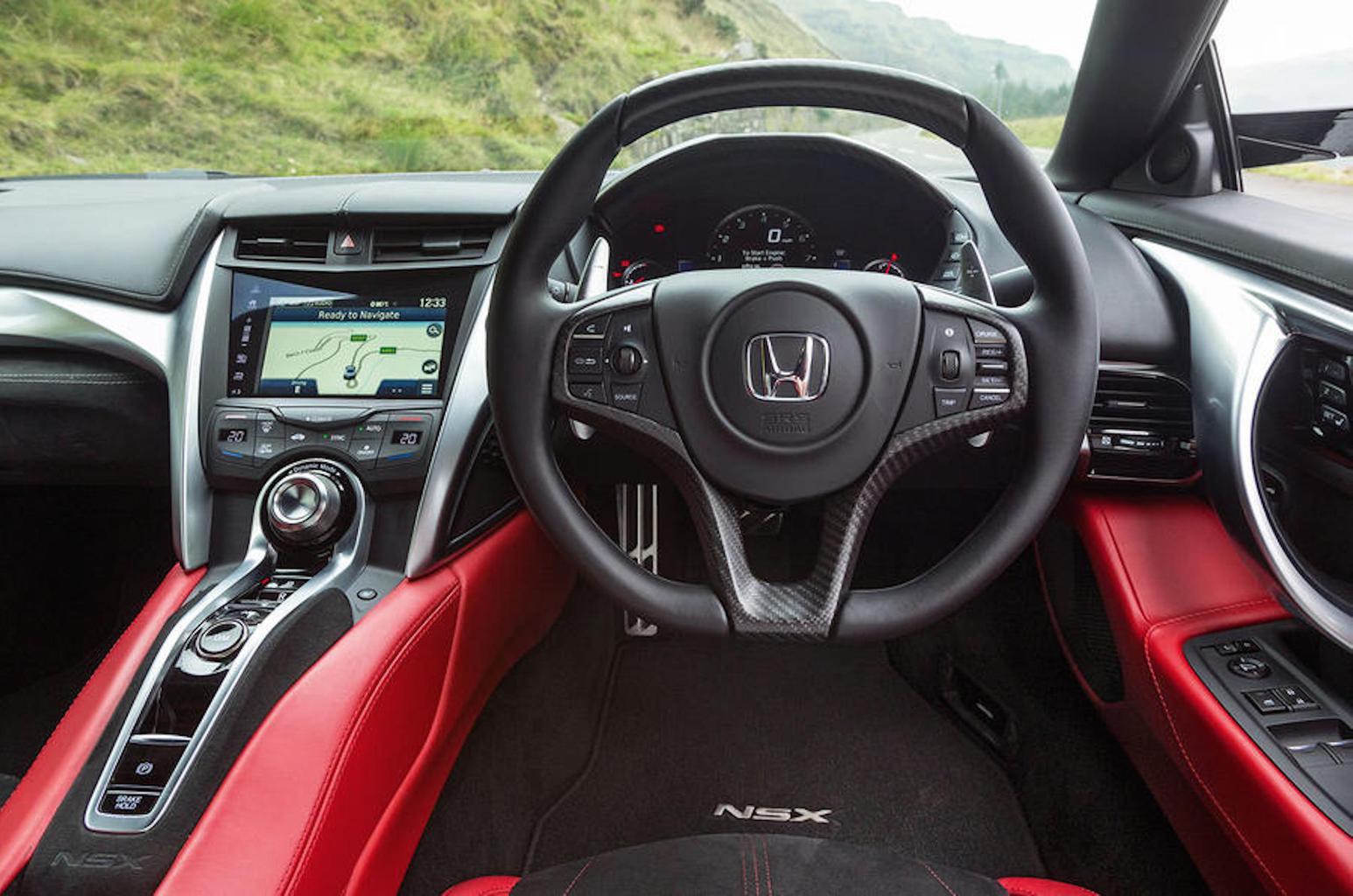 Honda NSX - interior