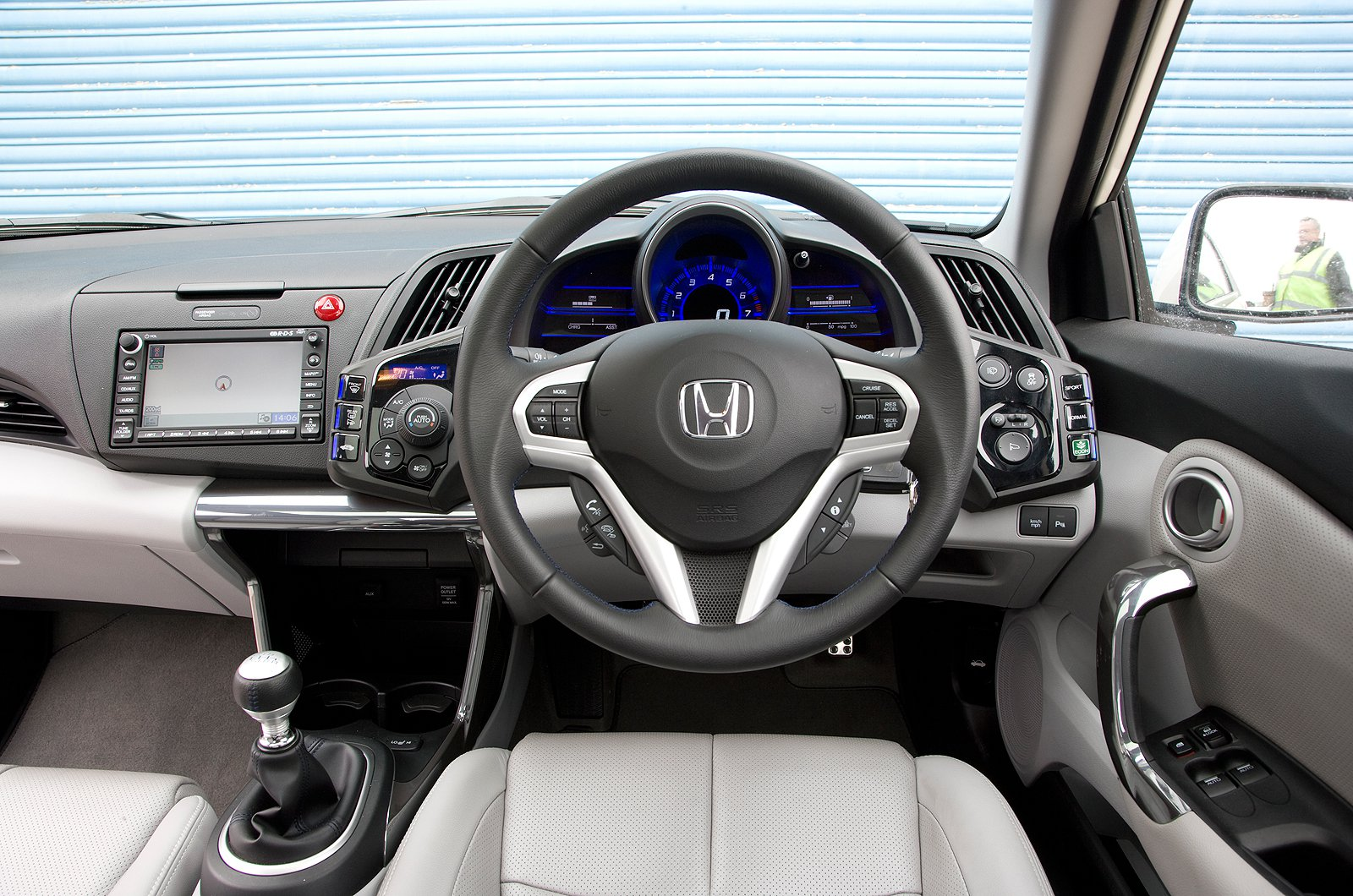 10: Honda CR-Z - interior