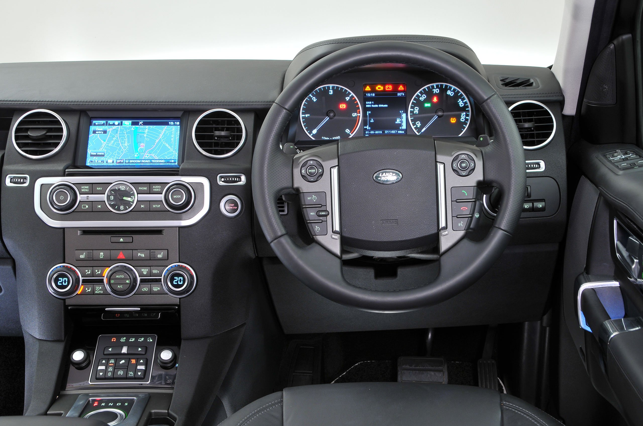 Land Rover Discovery 4 - interior