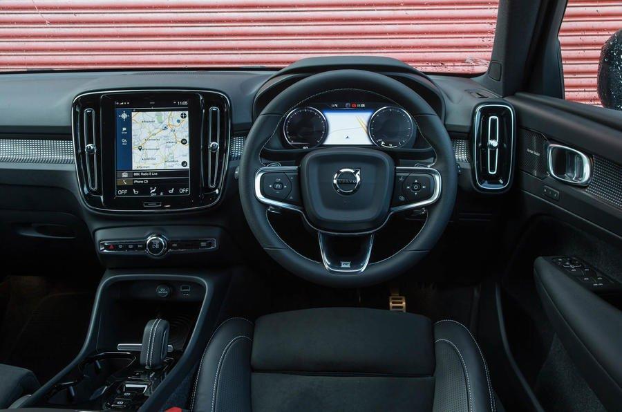 Volvo XC40 D3 R-Design auto - interior