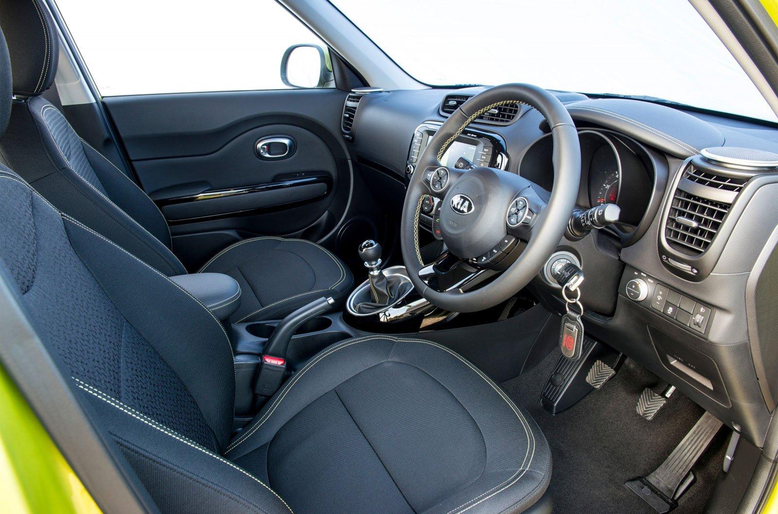 8: Kia Soul EV - interior