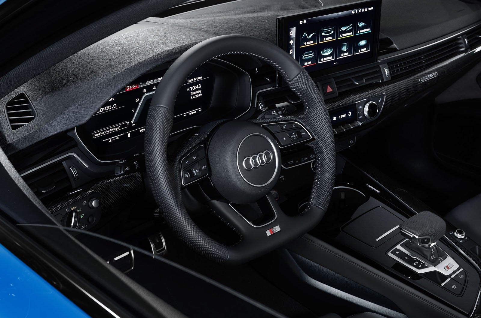 2020 Audi A4 dashboard