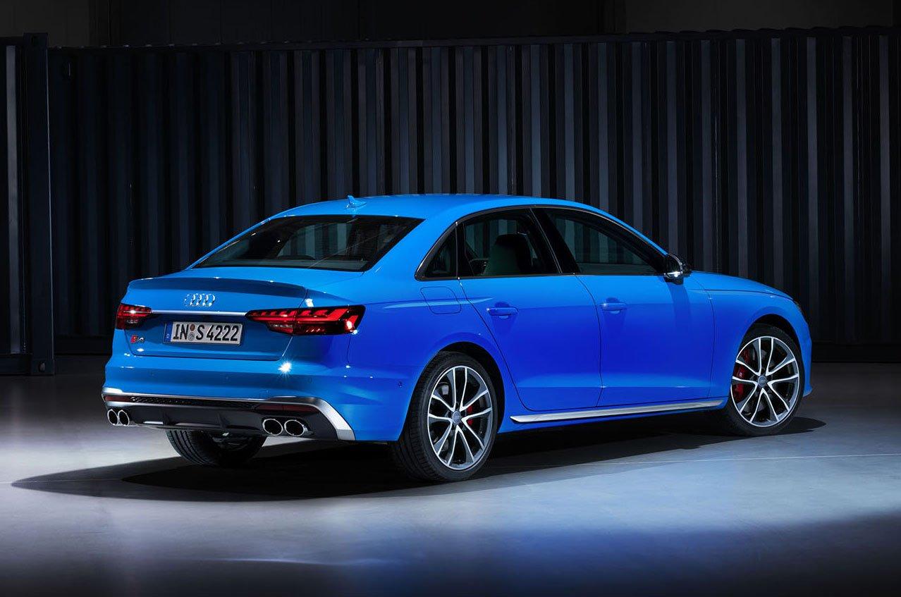 2020 Audi A4 rear