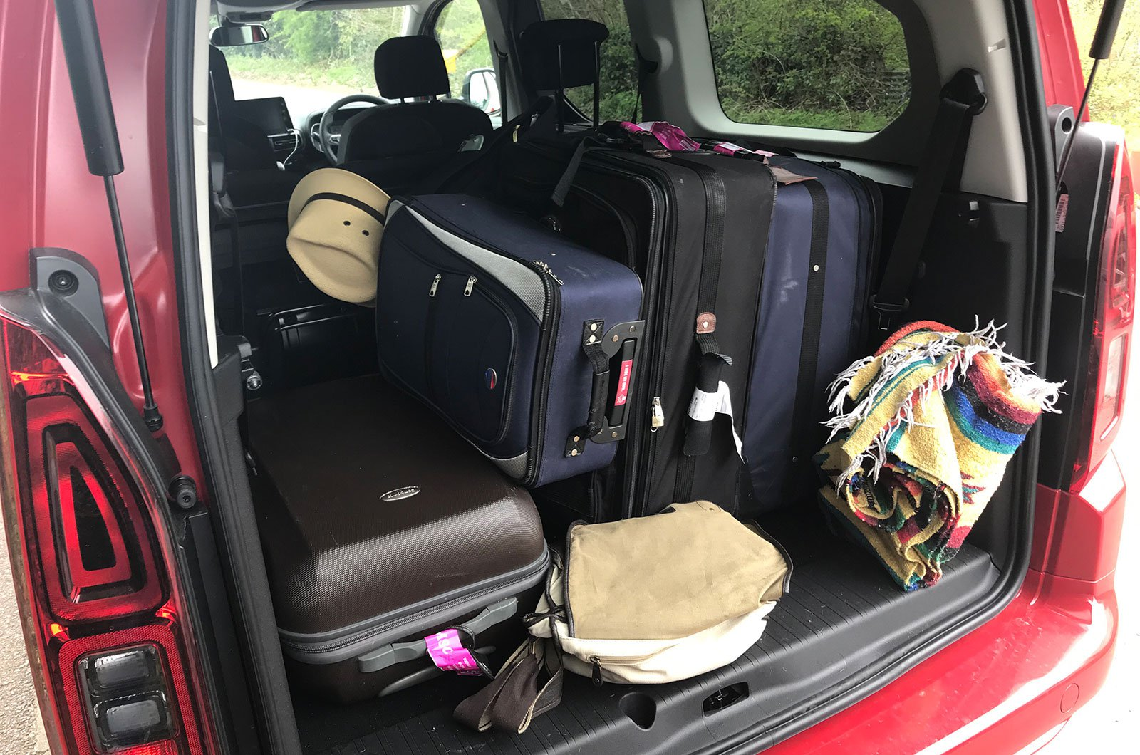 Vauxhall Combo Life boot