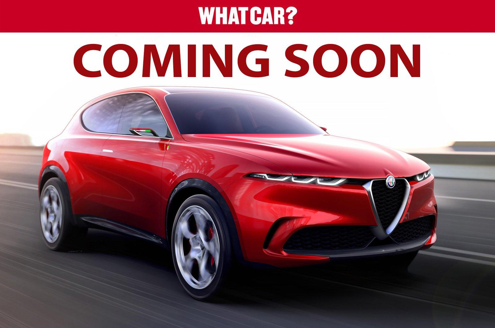 Alfa Romeo Tonale Coming Soon