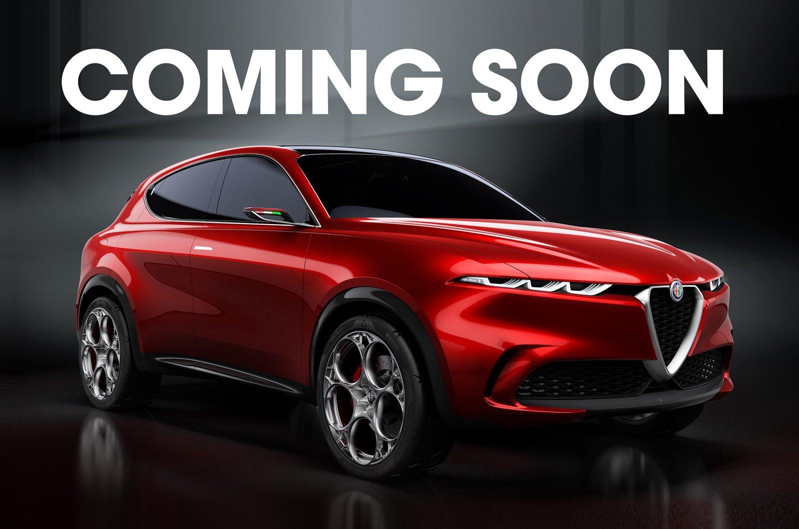 Alfa Romeo Tonale concept - coming soon