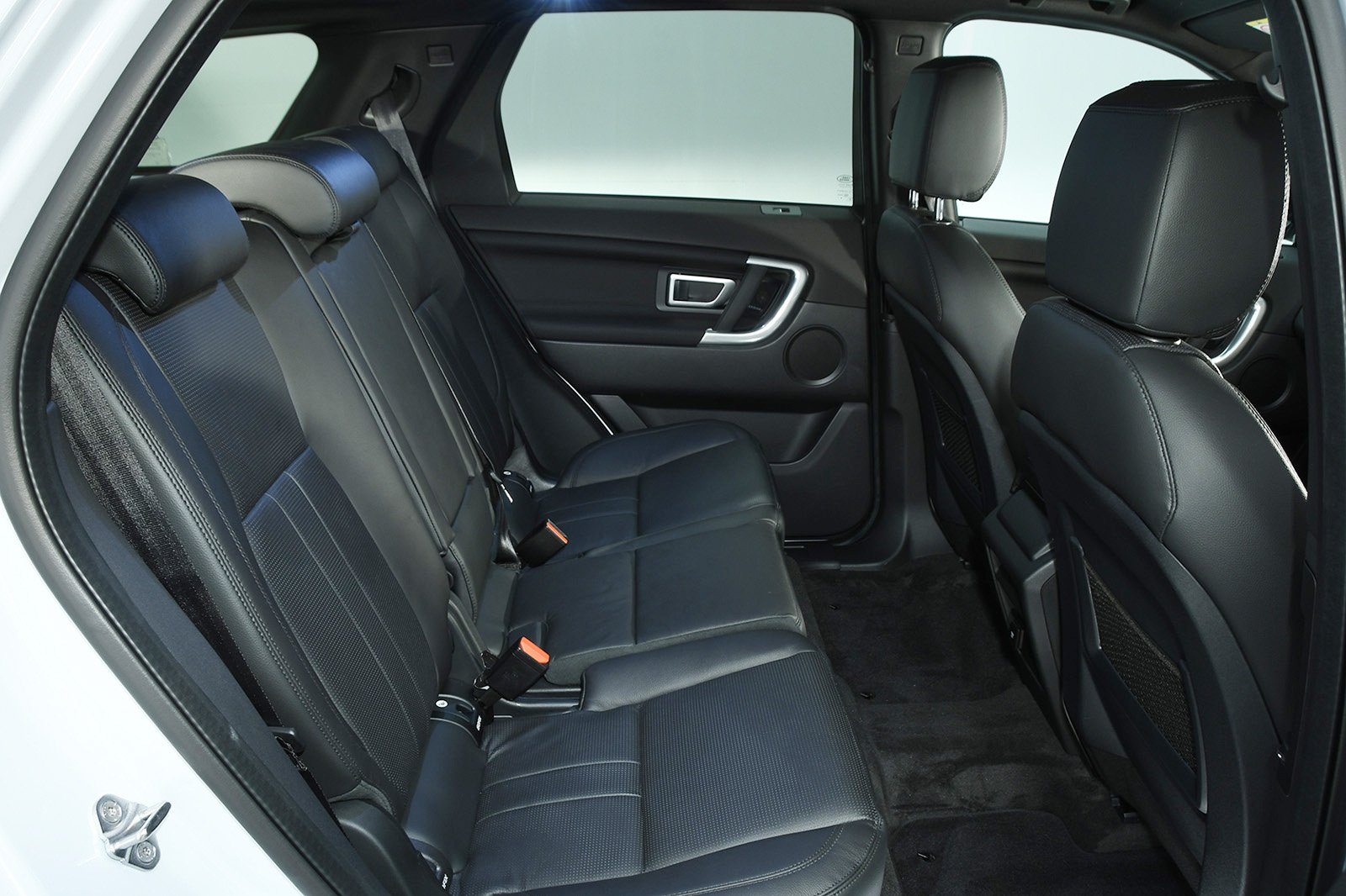 Land Rover back seats