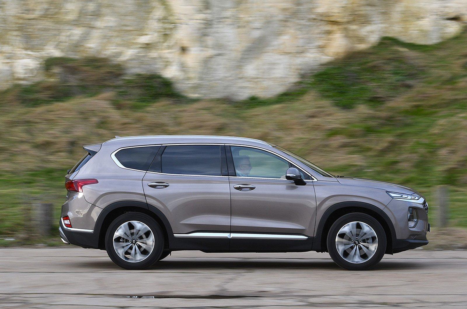 Hyundai Santa Fe side