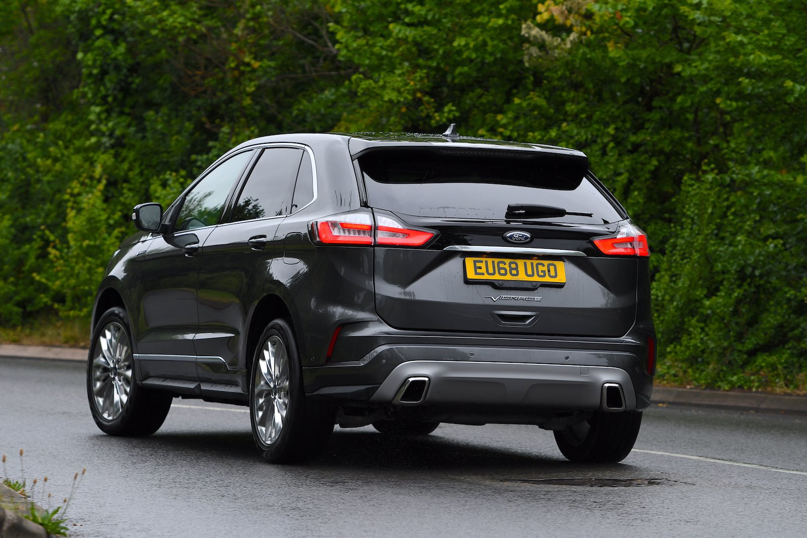 2019 Ford Edge rear cornering