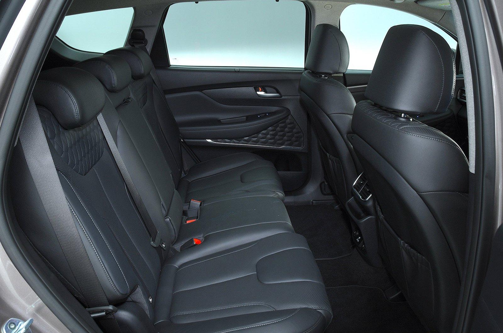 Hyundai Santa Fe back seats