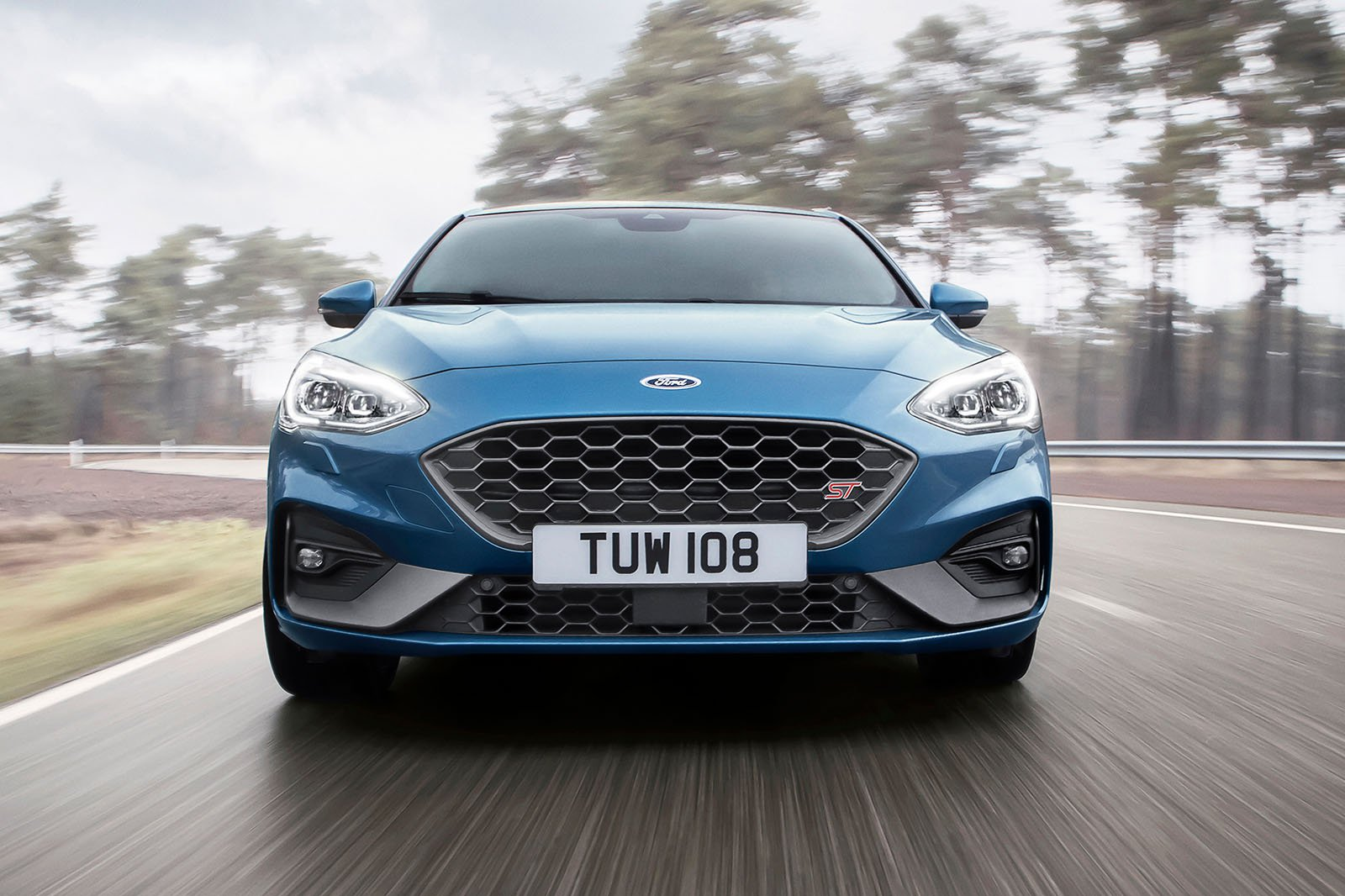 2019 Ford Focus ST - front nose driving